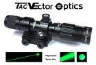 Vector Optics Magnus Green Laser Flashlight Green Laser Designator w/ Adjustable Beam Focus 30-50mW Subzero