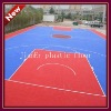 pp outdoor sports floor for basketball court surface