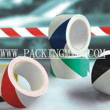 2014 best quaity and cheapest!!! Rubber self adhesive PVC film tape for floor marking