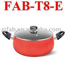 Aluminum kitchen ware- Belly Shape Cooking Pot