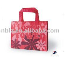 Recyclable non woven reusable shopping bag