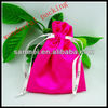 satin pouches for jewelry gift packing 2014 new design