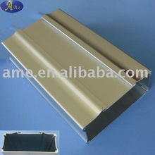 Extrusion aluminium housing shell boxes for power supply lithium battery housing