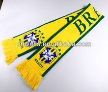 sports team brazil scarf