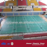 indoor pvc sports floor for badminton court