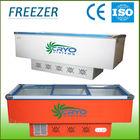 Glass Luxury Refrigerated Cooling freezer; food display freezer;integrated fridge freezer