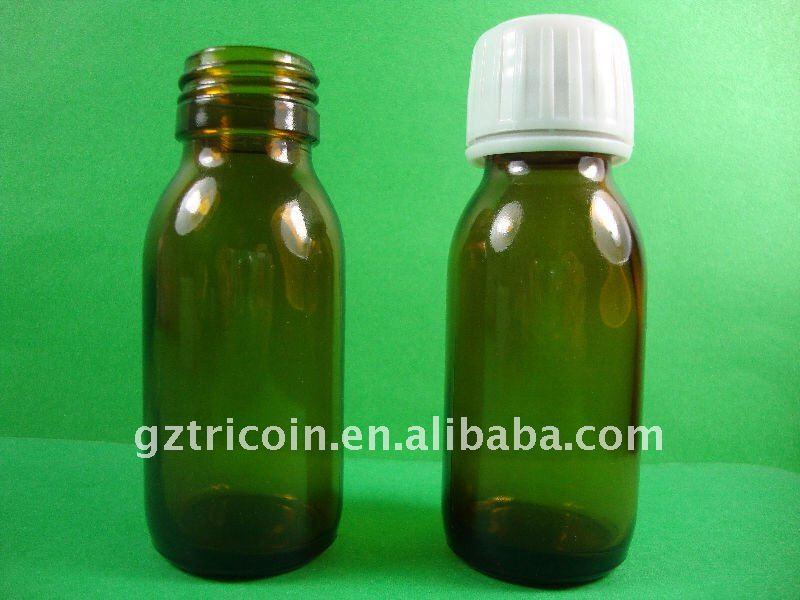 60ml Amber glass bottle