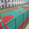 2014 plastic outdoor basketball flooring