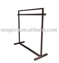advertising supermarket shelf metal rail display