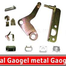Folha de metal aço de perfuração de dobra parte
