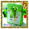 green eco-friendly paper gift bag,cheap paper bags,funny gift bags