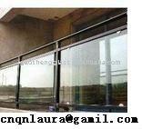 laminado y templado de vidrio balcón