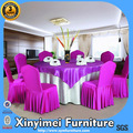 Universal do casamento cadeira coberta e toalha de mesa xym-k28
