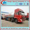 Dongfeng 34.5m3 lpg bulk tanker truck factory,lpg truck
