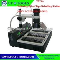 T870A BGA Soldering Chips Reballing Station/ Infra-red Digital Rework Station 1000W AC220-230v 60/50Hz