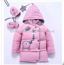 100% Cotton Woven Fancy Girl Coat 2012