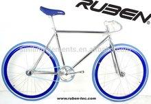 RUBEN anodized frame filpflop fixie road bike
