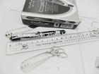 High-capacity Mini Stainless Steel Clip Gel Ink Wholesale Pens