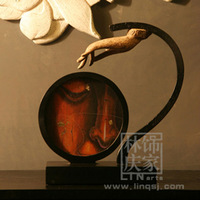 Q527-82 Chinese Unique and Creative Style Buddha Hand Decorative Photo Frame