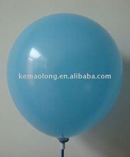 inflate latex balloon light blue balloon
