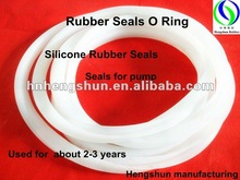 Translucent For Pump Silicone Rubber Seals O Ring