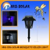 Patent rechargeable high voltage solar mosquito killer light