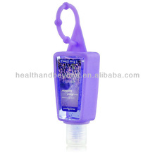 OEM Pocket Bac Deep Cleansing Anti-Bacterial Hand Gel and Hand Sanitizer Gel with Silicon Holder