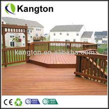WPC wooden veranda