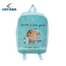 2014 wholesale turquoise lovely kids zoo animal backpack,teenage book bag