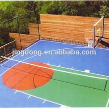 Interlocking PP Sports Court