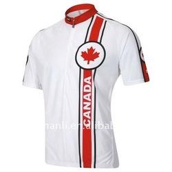 canada cycling jersey/bike wear/bicycle clothing