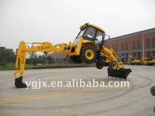 amphibious excavator mini,yellow,new 7ton backhoe loader with low price for digging and loading