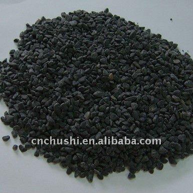 billige natürlichen schwarzen kiesel stein