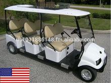Cruise Car Brand 6P Gas All American Shuttle Cart