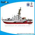 luxo plástico rc barcos de alta velocidade para venda