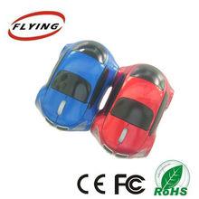 2.4 G wireless car shape mouse