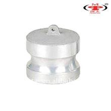 aluminum dust plug