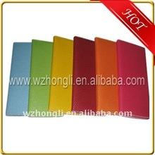 Promotion gift/leather folder/memo pad/agenda/notebook/notepad/organizer
