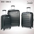 mayor venta diseño de gran marca carro de equipaje de viaje de policarbonato PC
