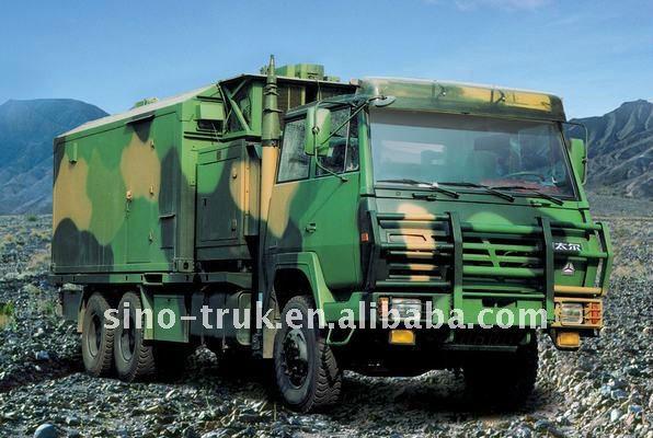 2015 venta caliente 6 x 6 todas las ruedas de conducción eje militar camión de carga