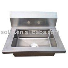 Welded Stainless Steel Kitchen Hand Sink 304