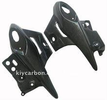 Carbon black Kawasaki motorcycle parts