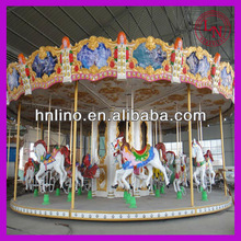 Musical merry go round !outdoor park rides carousel horse
