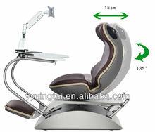 DEMNI Ergonomic swivel chair mechanism and table