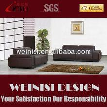 Modern Genuine leather sofa Fashionable fabric sofa F002#