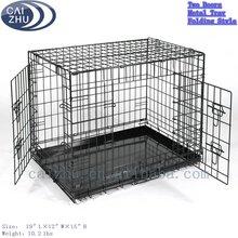 """19"""" Double Door Iron Dog Crate"""