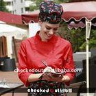 lady's red shirt^latest shirt designs for women*ginshop uniform,waiter clothing#cotton shirt*