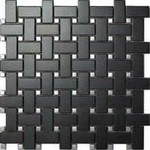 Net shaped mozaic tiles with fir green color (SA041-2)