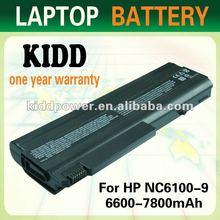 replacement Battery for HP Compaq nx5100 nx6100 nx6105 nx6110 nx6115 nx6120 nx6125 nx6130 battery