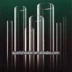 Supply High Precision Clear/Transparent Fused Quartz Glass Tube